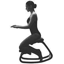 New listing  Varier Variable Balans Original Kneeling Chair Designed by Peter Opsvik, Black