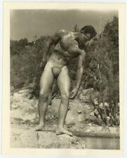 Jack Conant 1950 Bob Mizer AMG Photo Beefcake Bodybuilder Gay Physique Hunk 7472