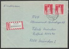 *1p SALE* Germany - West, 1975 Industry & Tech. 140pf on Cover MARKTOBERDORF CDS