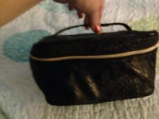 Lancôme Fabric Faux Scales Cosmetic Make Up Bag New without tags