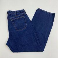 Old Navy Famous Jeans Mens 40X32 Blue Straight Leg Regular Fit Medium Wash Denim