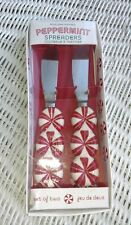 Williams Sonoma White Red Peppermint Spreaders in Original Box   JUL19