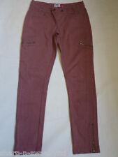Mujer Oscuro Rosa de color Vaqueros Pitillo Pantalones UK 12 EU 40 W28 L30
