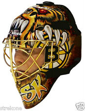 Boston Bruins TUUKKA RASK -2013 NHL Goalie Mask Promo Shot - WindoCling Stick-On