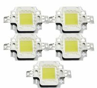 5pcs 10Watt High Power 900LM 6000-6500K Light 10W LED Lamp Cool White Bulbs
