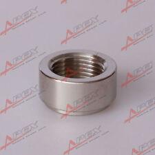 Weld O2 Sensor Bung 18mm x 1.5 M18 X 1.5 Mild Steel Nut fitting
