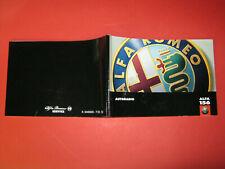 ALFA Romeo GT Manuale di istruzioni 2004 MANUALE MANUALE bordo libro BA