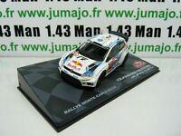 RMIT18F 1/43 IXO Rallye Monte Carlo : VOLKSWAGEN POLO R WRC 2014 Latvala