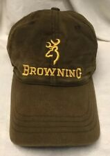 adjustable durable BROWNING outdoor hunter OSFA sportsman hat