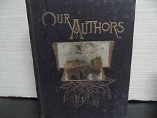 OUR ALBUM OF AUTHORS - 1887 - BY FRANK M'ALPINE - HARDCOVER