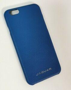 Genuine Jaguar Blue Real Leather iPhone 6 Case - 50JDPH726BLA