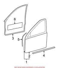 For Mercedes Genuine Door Seal Right 2037201678