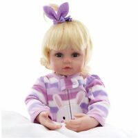 "2019 Toddler 22"" Reborn Baby Girl Doll Silicone Vinyl Lifelike Newborn Toy Gifts"