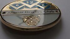 Jaguar V6 V8 V12 Club Grill Badge-E Type F Type X Type XJS XF Xjr Xk Mk 1 II
