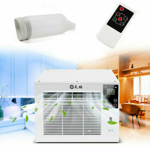 3754BTU Air Conditioner Cooler Window Refrigerated Cooling Remote Control 1100W