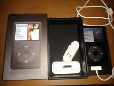 Apple iPod classic 6th Gen Silver (80 GB) A1238 With Dock insert & Original Box