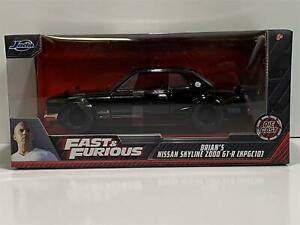 Fast and Furious Brians Nissan Skyline 2000 GT-R 1:24 Scale Jada 99686