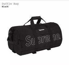 Supreme Duffle Bag Purple FW18 3M Reflective Printed Logo New! 100% Authentic!