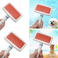 FT- AU_ Pet Dog Hair Comb Cat Clean Shedding Grooming Trimmer Fur Brush Massage