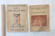 Old School Readers Our Everyday World Oxford Press Railway/Pillar Box 1950's