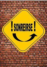 LAS SEÑALES DE TRÁFICO Novelty Fun Spanish Road Signs Sonreirse Wall Plaque