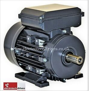 110 Volt  Electric Motor 1.1kw 1.5hp 1400rpm 4 pole 110V  Single Phase