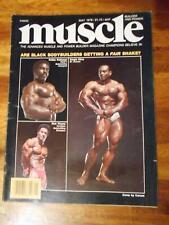MUSCLE BUILDER bodybuilding magazine SERGIO OLIVA, ROBBY & RICK WAYNE 5-78
