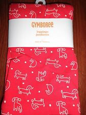 NWT Gymboree 4t 4 leggings pants Mod About Orange dogs print  puppies puppy dog