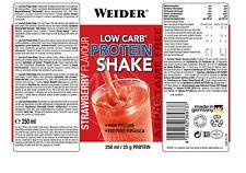 Weider BodyShaper Low Carb* (6,83�'�/L) Protein Shake 24x 250ml