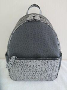 Guess PANDORE Signature G Logo COAL MULTI Backpack QQ672429 Shoulder Bag Purse