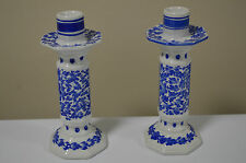 Blue and White Candle Holder