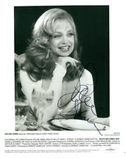 Goldie Hawn (Vintage) signed photo COA