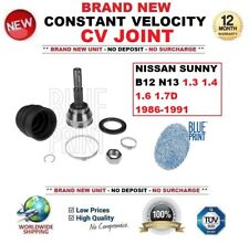 FOR NISSAN SUNNY B12 N13 1.3 1.4 1.6 1.7D 1986-1991 CONSTANT VELOCITY CV JOINT