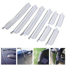 8x Car Door Edge Guards Trim Molding Protection Strip Anti-rub Scratch Protector