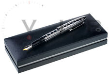 MONTBLANC LE-GRAND 146 SOLITAIRE PLATINUM PLATED FACET FOUNTAIN PEN STYLO PLUME
