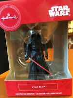 Hallmark ornament Disney star wars Kylo Ren new in box Christmas Tree cake top