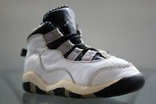 Rare 1994 Nike Baby Jordan White / Black / Light Steel Grey 150216 101 Size 8C