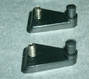 Two 1/18 - 1/64 Scale Trailer Hitches for Diecast Models Add-On Plastic Parts