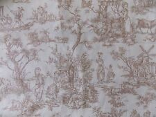 WtW Fabric Classic Cottons 2006 Toile People Animals Scenery Country BTY Quilt