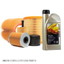 Kit tagliando auto, kit 3 filtri e 4 litri olio motore Opel GM 5W30 (KF1090/fo)