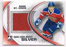 2011-12 ITG HEROES & PROSPECTS MICHAEL ST. CROIX JERSEY 1 COLOR SILVERVERSION