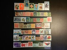 *Worldwide Stamps* Lot Of Fifty-Five (55) All Different Mint & Used
