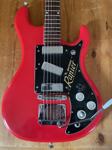 Watkins Rapier 33 Vintage Classic Electric Guitar from the 60s