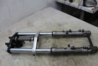 2001 YAMAHA FZ1 FZ 1 FRONT END FORKS TRIPLE TREE CLAMP FORK TUBES
