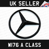 Mercedes A Class 2012-2018 W176 Rear Boot Lid Badge Star Gloss Black A1768170016