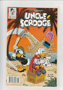 Uncle Scrooge #279 F Disney comic 1993