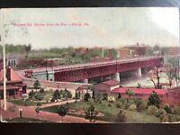 Vintage Postcard>1908>Girard Avenue Bridge>Zoo>Philadelphia>Pennsylvania