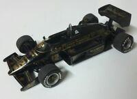 Kit TAMEO monté LOTUS RENAULT 97T 1985 Ayrton SENNA F1 FORMULE 1 N°12 au 1/43