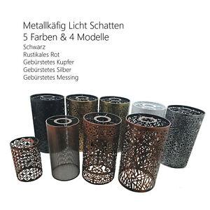 Industrie Käfig Draht Lampenschirm E27 Metal Vintage Deckenleuchte Pendelleuchte
