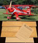 "51"" Ws PITTS LITTLE STINKER R/c Plane Partial kit/short kit and plans, PLS READ"